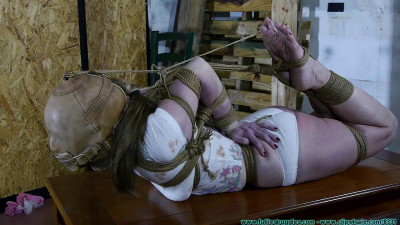 Crotch Roped tied