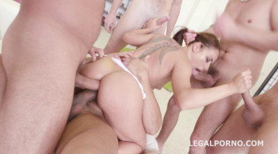 Gangbang Destination With Double Anal For Sexy Nomi Melone