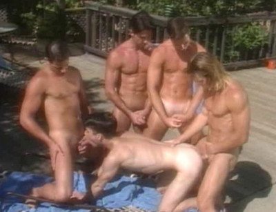 Debut fuck with hot orgy
