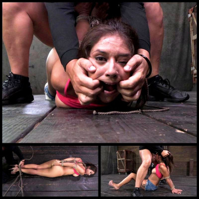 Hot Latino Rope Bondage (Jynx Maze) SexuallyBroken