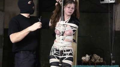 The Vigilante Captures and Strictly Binds Riley Rose – Part 2