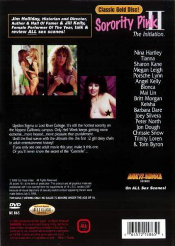 Description Sorority Pink Vol. 2(1989)- Megan Leigh,Nina Hartley,Mai Lin
