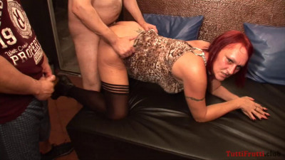 New swinger party with slutty MILF Ingrid