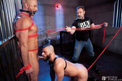 Leather Dogs Part 2 - Dirk Caber, Jake Morgan, Kristofer Weston