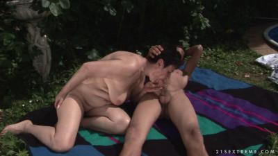 Lake side intimacy