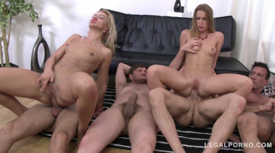Sexy Sluts Gets Extreme Anal Orgy With DP & Dpp