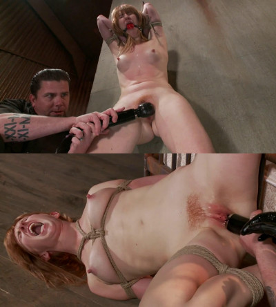 Bondage, suspension and torture for naked for hot girl part 1