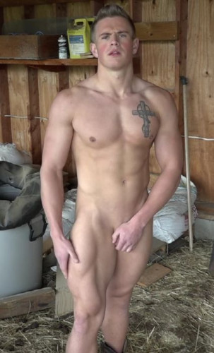 Kirk M Photo Shoot part 1 Nude and Touching