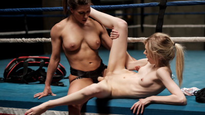 Description Ariel X, Mackenzie Moss - Lesbian Strap-On Bosses(2019)