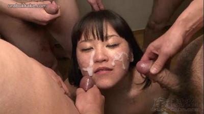 Big Titty Saho's 30 Cumshot Bukkake Hell