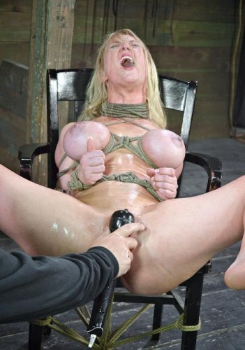 Bondage Legend taking the cock