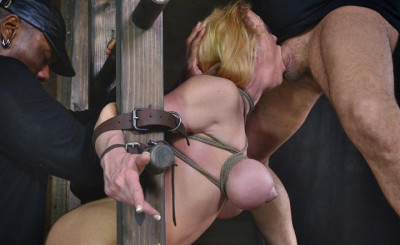 Sexy Slave Destroyed By Cock Harcore Anal Pounding