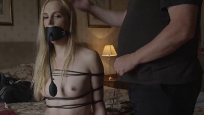 Bondage, domination and hogtie for two horny blondes part1 Full HD 1080p