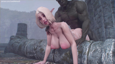 Thicc Elf and Big Orc – Full Movie – Full HD 1080p
