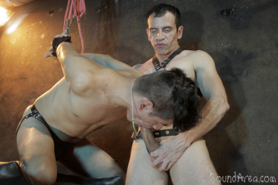 Bound Area - Twink slave ravaged raw in all sorts of suspension
