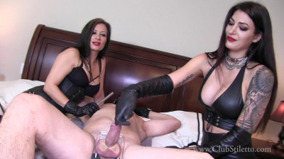 Mistress Damazonia, Miss Jasmine - Hungry Dick Swallows Her Entire Heel