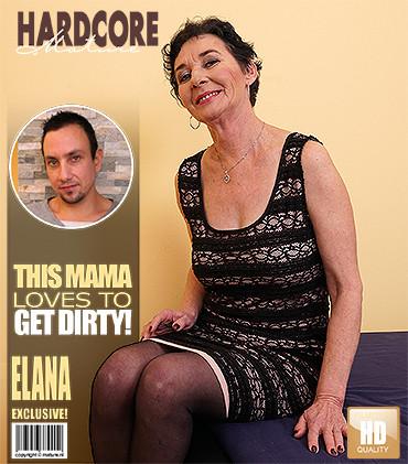 Elana S - Kinky mature lady fucking and sucking FullHD 1080p