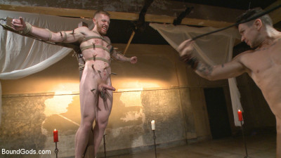 Roman slave offers his entire body to the whims of his cruel Dominus