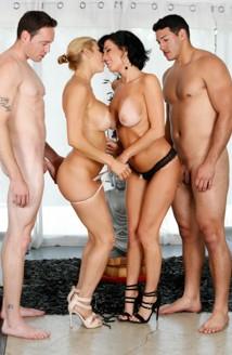 Veronica Avluv, Alexis Fawx, Romeo Price, Tony Martinez - Hotel Room Mishap FullHD 1080p