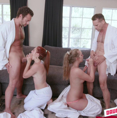 Description Luna Light And Ashley Red - Swapping Martial Arts Muff FullHD 1080p