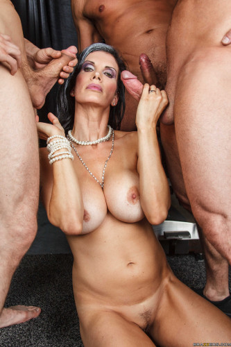 Slutty Dark-Haired Milf Who Can Handle A Monster Cock