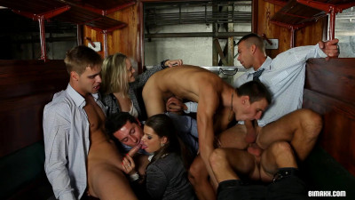 All Aboard The Bi Express Part 2 Mona Lee, Morgan Moon