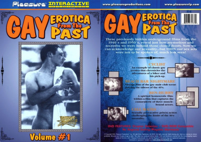 Gay Erotica of the Past 1 (1950s)