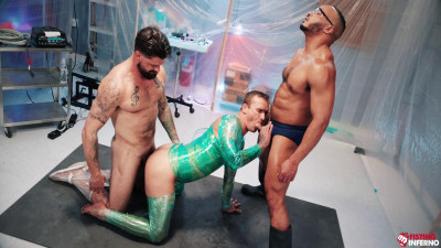FetishForce Wrapped – Scene 4 – Dillon Diaz, Alpha Wolfe and Isaac X
