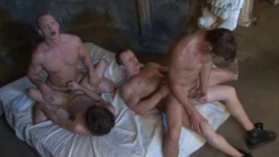 Pledgemasters In Raw Orgy