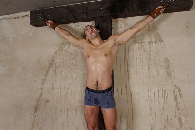 RusCapturedBoys Crucifixion of Slave Zhenya