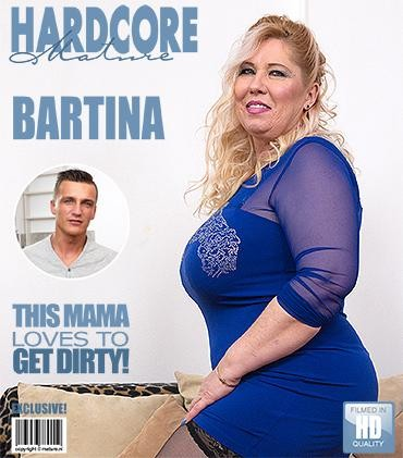 Bartina — Big breasted BBW doing her toyboy FullHD 1080p