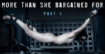 Description More Than She Bargained For Part 1