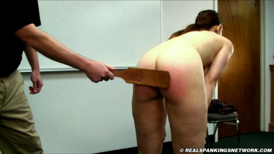 Jessy is Spanked by The Dean part 2