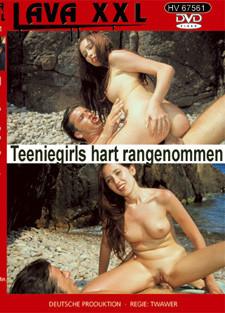 Teeniegirls hart rangenommen