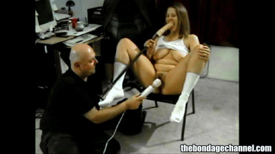 Dildo Play With Stef and Friend