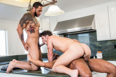 NoirMale Devin Franco, Jaxx Maxim and Dillon Diaz - Plumber's Helper