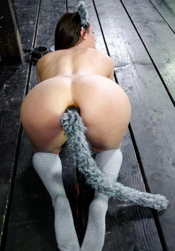 My sweet kitty in BDSM
