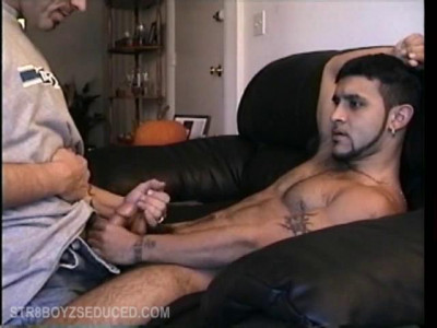 Straigh Boy Franco Strokes Cock