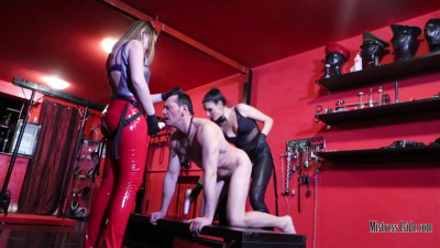 Mistress Iside - Double Strap-On Penetration