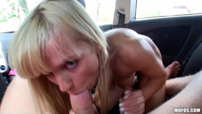 Hot Babe Came On His Cock In The Backseat Of Her Car