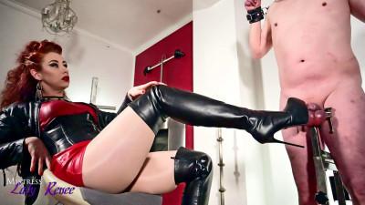 Mistress Lady Renee - Pin Poke Those Balls