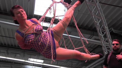 Shibari On Stage — Yvette Xtreme — HD 720p