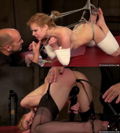 Super bondage, spanking and torture for beautiful slavegirl