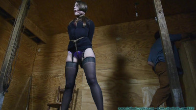 Terra Mizu's Legs Spread Hogtie – Part 1