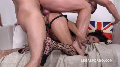 Manhandle Anal With DP For Sexy Victoriya Lusconi