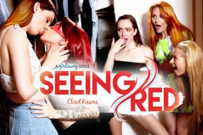 Maya Kendrick, Lacy Lennon, Lola Fae - Seeing Red Closet Kissers FullHD 1080p