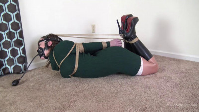 Serene Isley – Green Dress and a Tight Hogtie