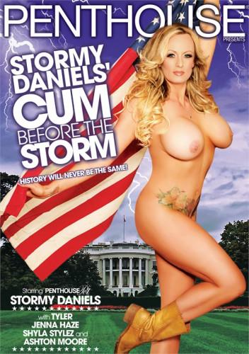 Description Stormy Daniels' Cum Before The Storm
