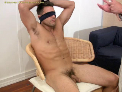 Peter He Gets Bound To A Chair & Hazed By Nikko!
