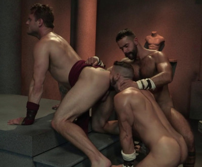 Erectus Threesome Fuck